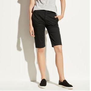 Vince Black Bermuda Shorts